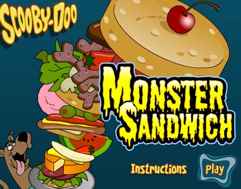 Scooby-Doo Monster Sandwich